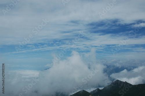 Fototapeta 登山 obraz na płótnie