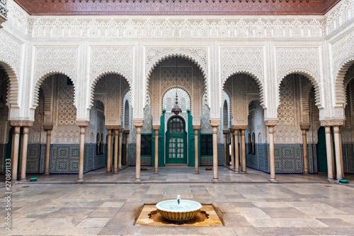 Fotomural Historical court of Casablanca - Mahkama du Pacha - Morocco