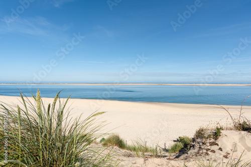 BASSIN D'ARCACHON (France), plage du Petit Nice et banc d'Arguin - fototapety na wymiar