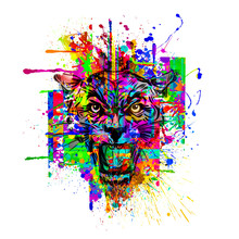 Wild Tiger Tatoo - Illustration