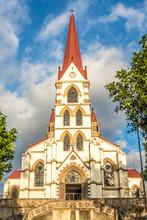 View At The Facade Of Church O...