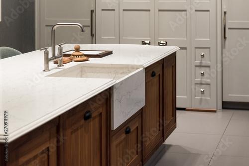 Kitchen Island - Buy this stock photo and explore similar ...
