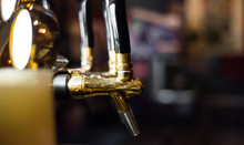 Craft Beer Tap In Bar
