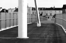 Shoreham Footbridge Black And ...