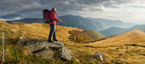 Fototapeta Autumn in mountain obraz
