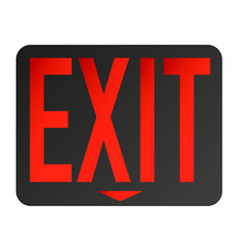 Emergency Exit Sign Lighted Re...