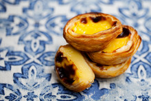 Egg Tart, Traditional Portugue...