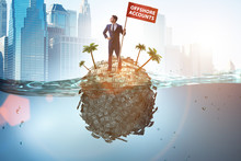 Offshore Accounts Concept With...