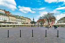 Square In Rzeszów, Poland