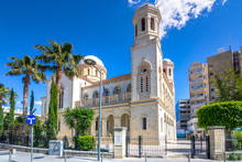 Cathedral Of Agia-Napa, The Main Orthodox Church Of Limassol, Cyprus
