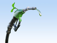 Gas  Or Diesel Pump Nozzle Wit...