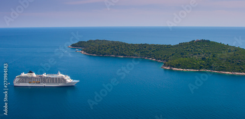 In de dag Mediterraans Europa Cruise Ship Europe