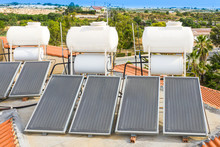 Solar Thermal Water Heatihg Sy...