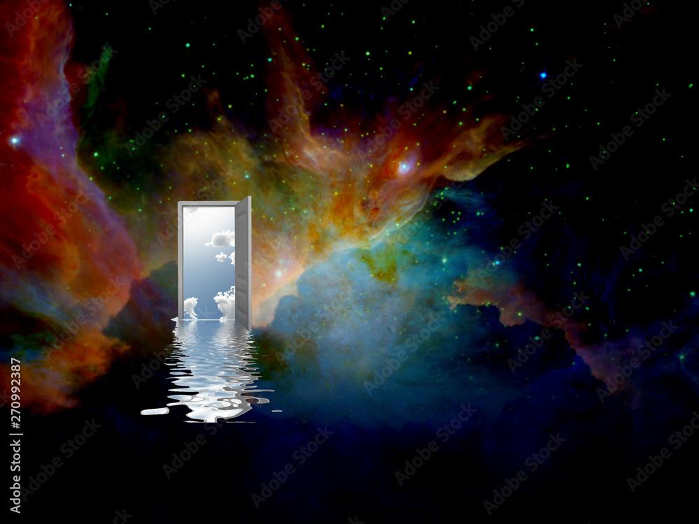 Fototapeta Door to another world
