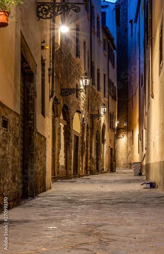 Narrow street of Florence