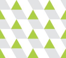 Triangular Background. Seamless Geometric Pattern. Seamless Abstract Triangle Geometrical Background. Infinity Geometric Pattern. Vector Illustration.