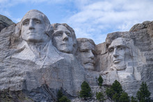 Mount Rushmore Monument In Sou...