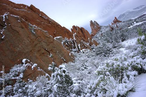Colorado Springs Garden Of The Gods Red Rocks Landscape
