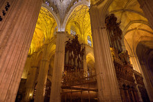 Choir Area With Two Sets Of Or...