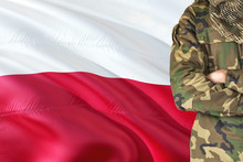 Crossed Arms Polish Soldier Wi...