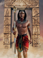 Ancient Egyptian Priest With A...