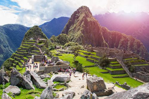 Photo  Machu Picchu, A UNESCO World Heritage Site in 1983