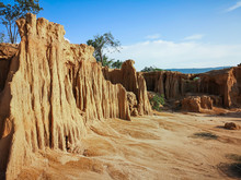 Lalu The Grand Canyon Of Thailand. Lalu Is A Natural Attraction In Sa Kaeo Province ,Thailand.