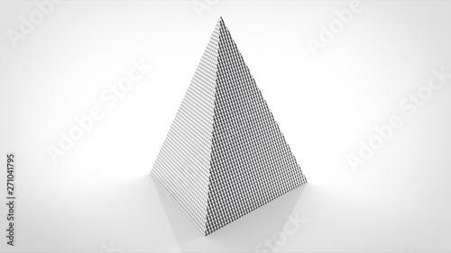Valokuva  ディンプル シルバー 三角錐