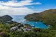 canvas print picture - Marigot Bay - St. Lucia von oben