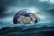 Welt Versinkt Im Wasser