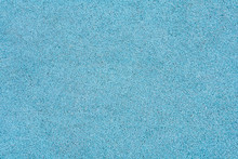 Blue Rubber Crumb Surface As Texture, Background