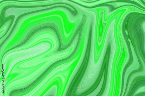 Leinwanddruck Bild - ooddysmile : Marble ink colorful. Green marble pattern texture abstract background. can be used for background or wallpaper