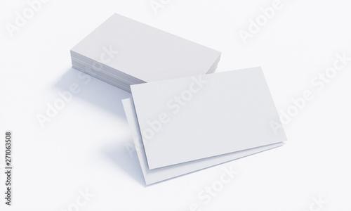 Leere Visitenkarten Mit Stapel Weiss 3 Kaufen Sie Dieses
