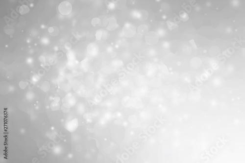 Fototapeta white blur abstract background. bokeh christmas blurred beautiful shiny Christmas lights obraz na płótnie