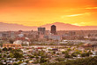canvas print picture - Tucson, Arizona, USA Skyline