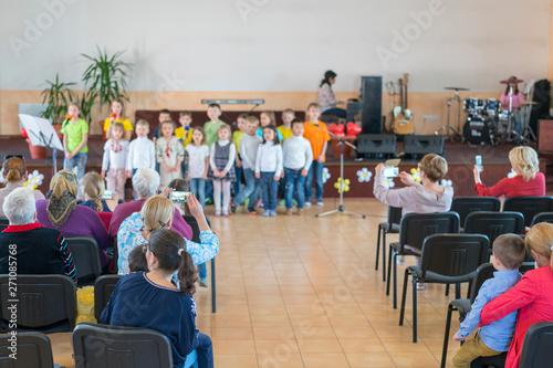 Fotografija  Performance by talented children