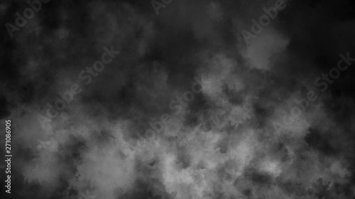 Garden Poster Smoke Abstract smoke steam moves on a black background . The concept of aromatherapy . Design element