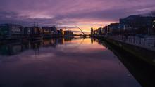 Dublin River At Dawn