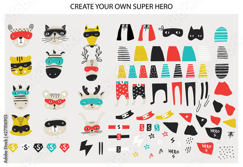 Fotografía  Super Hero collection