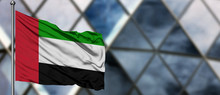 United Arab Emirates Flag Wavi...