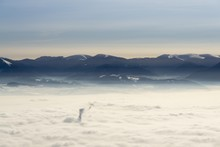 Clouds Inversion From Mountain...