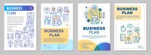 Business Plan Brochure Template Layout