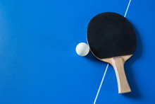 A Racket For Table Tennis With...