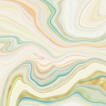Abstract Marble Swirls Backgro...