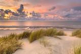 Fototapeta Fototapety z morzem do Twojej sypialni - View over North Sea from dune