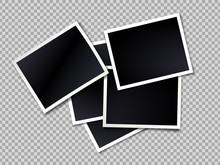 Photo Frame. Realistic Vector ...