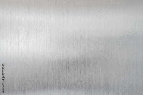 Cuadros en Lienzo texture metal background of brushed steel plate
