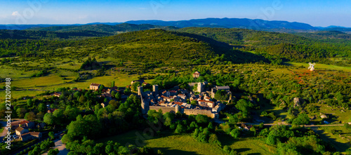 Photo La couvertoirade, french village in Aveyron