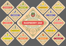 Jam Labels Set