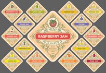 Jam Labels Set